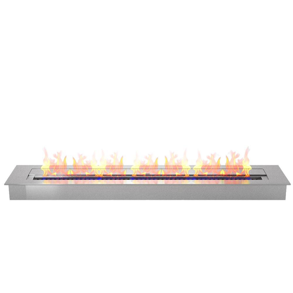 pro 36 inch bio ethanol fireplace burner insert 7 4 liter