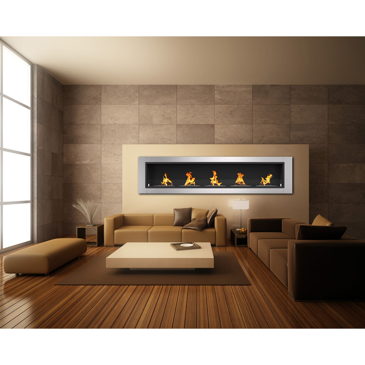 electric wide home sideline touchstone fireplace products recessed inc