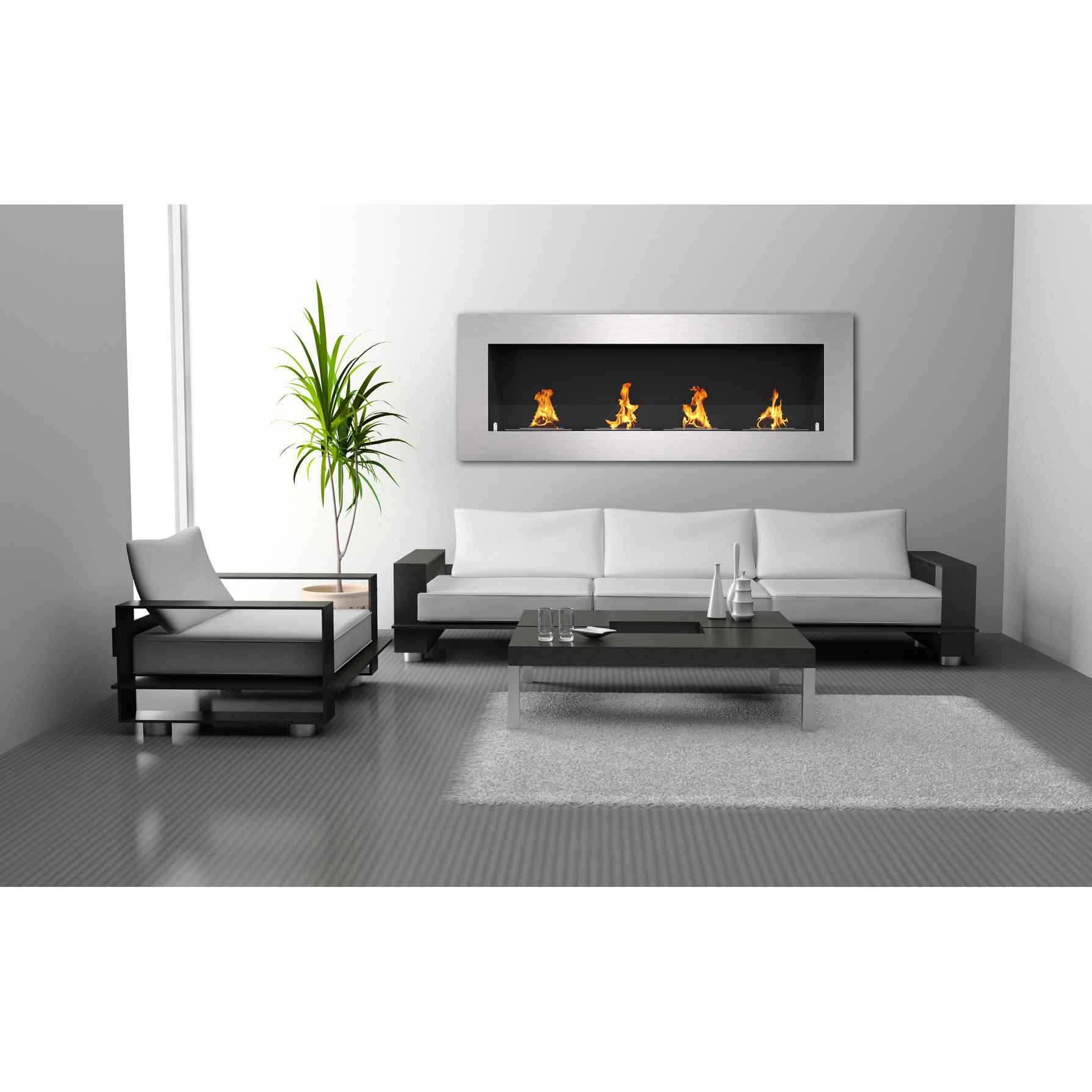 product view ethanol lareira cube bio kamin small fireplace chemine