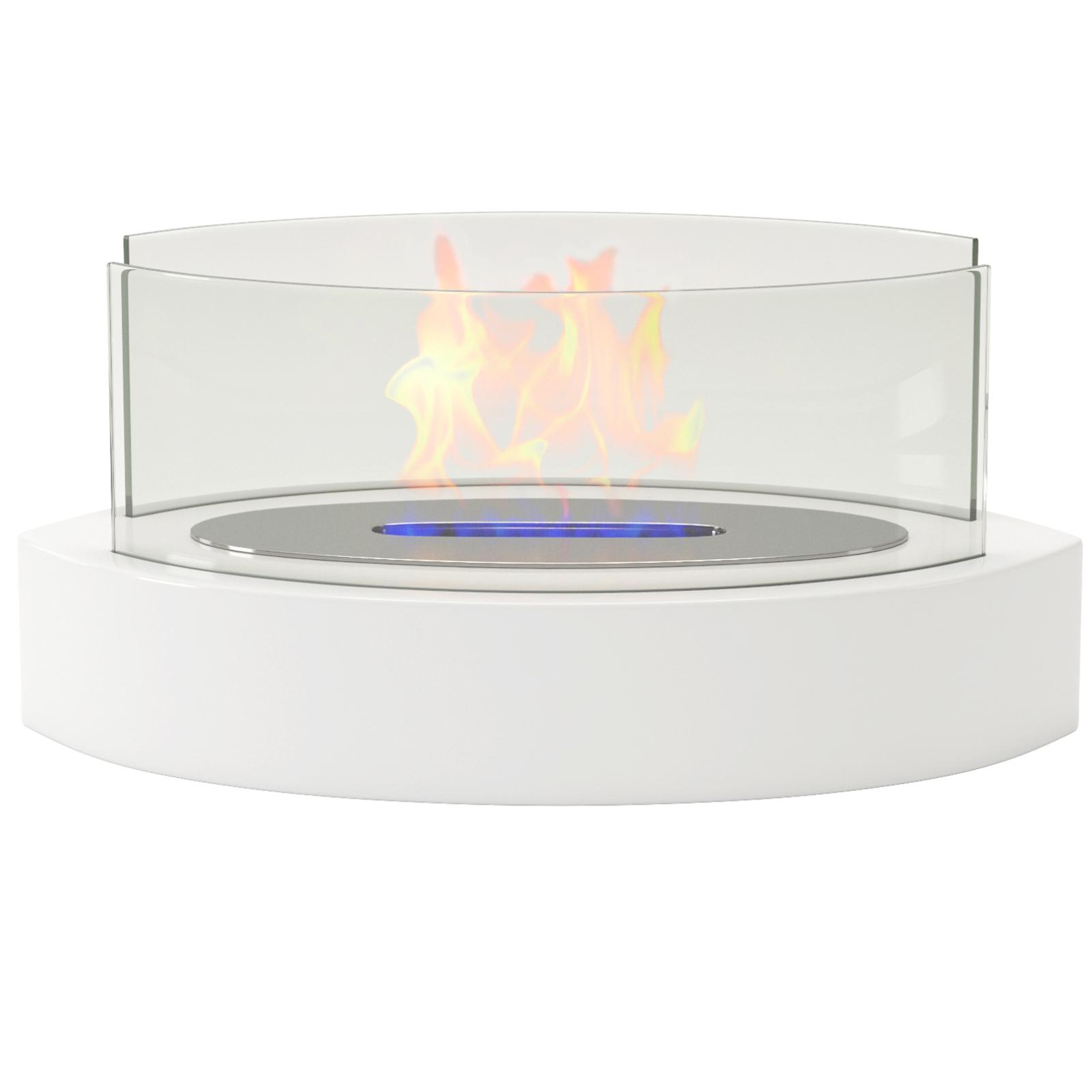 Festnight Tabletop Fireplace Ventless Bio Ethanol Fireplace Indoor