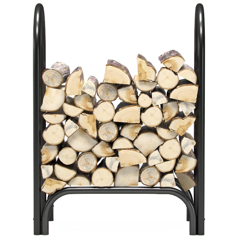 black racks panacea dp log outdoor com garden firewood deluxe feet rack amazon