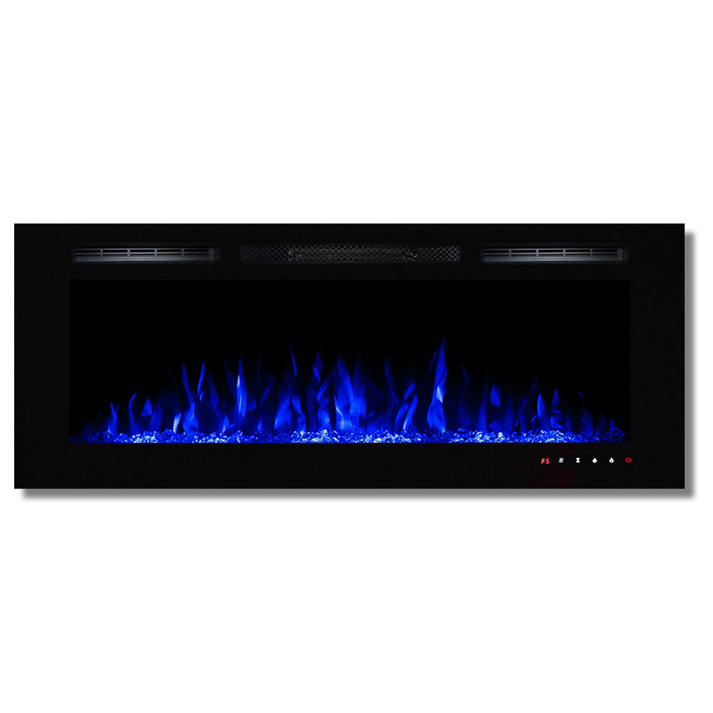 Fusion 50 Inch Built In Ventless Heater Recessed Wall