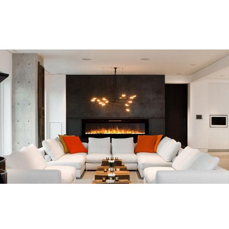 Astoria 60 Inch Built in Ventless Heater Recessed Wall