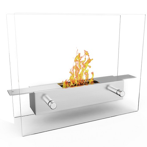 Lyon Tabletop Portable Bio Ethanol Fireplace