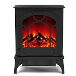 Aries Electric Fireplace Free Standing Portable Space Heater Stove