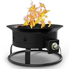 Camp Mate 58,000 BTU Portable Propane Outdoor Fire Pit